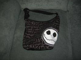 Black and White Jack Purse by PrincessCarol