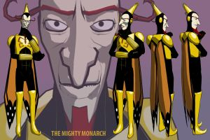 The Mighty Monarch by jackelbeaver