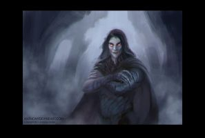 Lord of the Night (sketch) by Anthony Devine by AnthonyDevine
