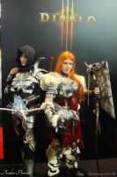 Blizzard stand at Brasil Game Show. by exilir-of-life