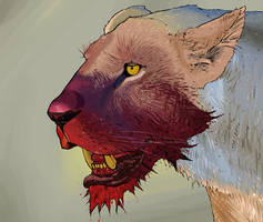 Lion by Heretic-Artwork
