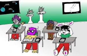 class super exciting by larsMoon