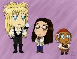 Chibis: Labyrinth by TheLastUnicorn1985