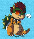 -CP- Bowser Chibi by EmzieTowers