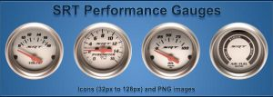 Dodge SRT Performance Gauges by daynite