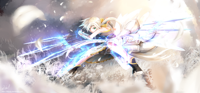 Brave Frontier - Untouchable Lily by litkung