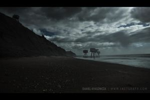 Shivering Sands: Jurassic Coast by inetgrafx