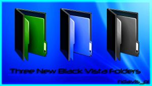 Black Vista Folders by hdavispi