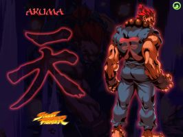 Akuma Wallpaper by dsx100