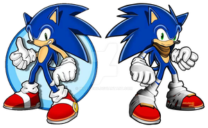 SONIC COMPARACION by Miles-CHC