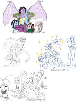 Draw your squad Meme Compilation 1 by Dymin-Jay