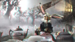 March Hare 3-D by MVRamsey