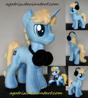 OC Sound Craft plush by agatrix