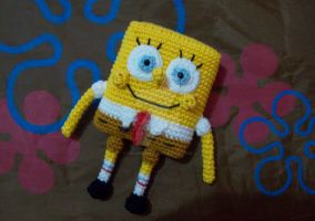 Amigurumi Spongebob by oddSpaceball