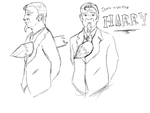 Harry Model Sheet by Ducxis