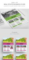 Real Estate - Business Flyer Template 1 by survivorcz