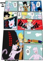 Mewtwo VS Goku Comic by Wuddupz