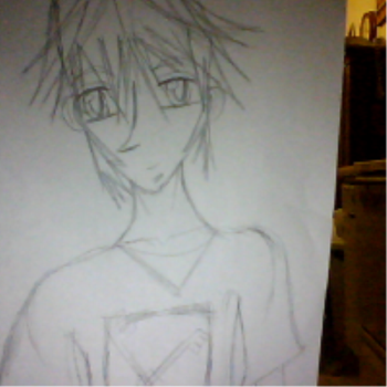 M first manga guy drawing by VocaloidCH-Meito7
