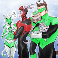 Baby sitting GLTAS by Joan-Kagami