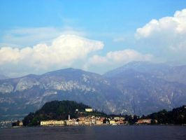 Bellagio over Lake Como by Peterodl