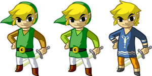 Link's Wardrobe - Wind Waker by Doctor-G
