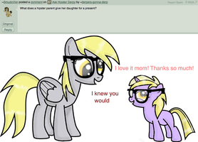 Ask Hipster Derpy 012 by Derpers-Gonna-Derp
