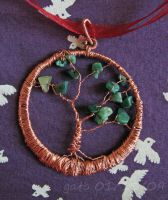 Jade and copper tree by gato-roamsround