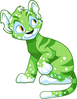 Speckled Kougra by Tibby-Kitty