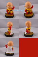 Villager Saitama One Punch Man Amiibo by ChibiSilverWings