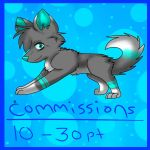 10 - 30 point Commissions by wolvesforever122