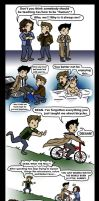Cas vs Being Mortal by blackbirdrose