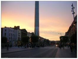 Dublin - O'Connell Street 02 by trydisegna