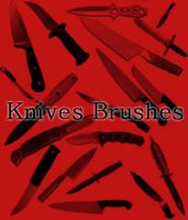 Knives Brushes by Miciaila