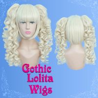 Curly Light Blonde by GothicLolitaWigs