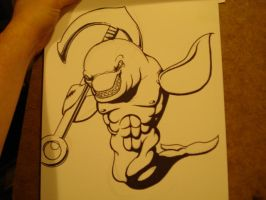 Inking - Killer Whale by slaymanexe
