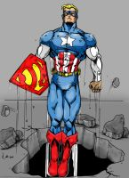 Super Soldier in color by Mace2006