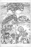HAUNT VS. page 5 pencils by ejimenez
