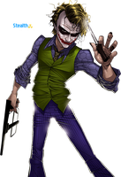 Joker Render by Stealth14