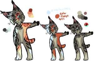Lynx adoptable DUE DATE UPDATED by Panderoo