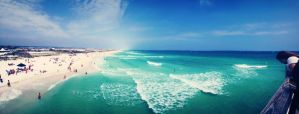 Beach Panoramic by lily314