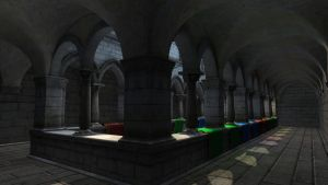 Sponza Demo Download by RTshaders