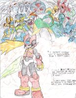 Megaman ZERO colored... by NickinAmerica