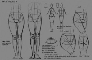 Leg Hip Notes P4 by FUNKYMONKEY1945