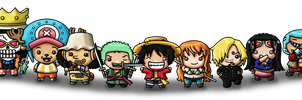 One Piece Time Skip by louisalulu