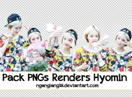PNG Render Hyomin Pack by ngangiang38
