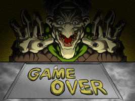Game Over Screen by MrNoobtastic