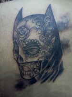 Batman Sugar Skull by ShannonRitchie