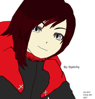 Ruby Rose from RWBY by Dyatchy