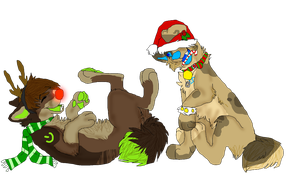 ~:Holiday giggles:~ by MalibuD0g