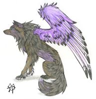 Lenn of Purple Wings by CaptainMorwen